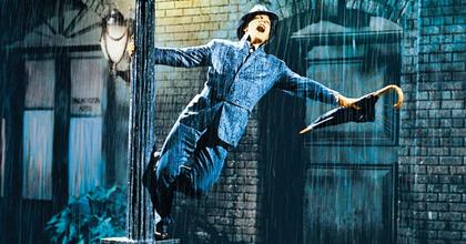 Keresik az Ének az esőben főszereplőit