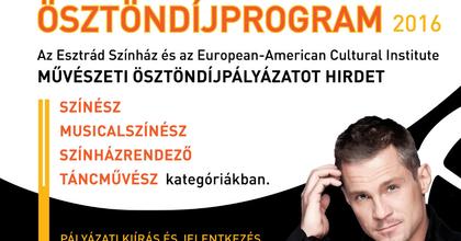 Ösztöndíjprogramot hirdet az Esztrád Színház