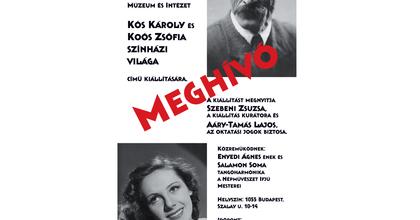 """""""Alma és fája"""" - Koós Károly és Koós Zsófia pályájáról nyílt kiállítás"""