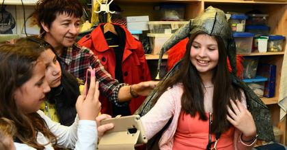 Diákokat borotvált Figaro a Csokonaiban