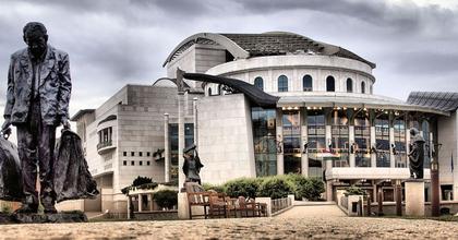 Kisebb tűz miatt kiürítették a budapesti Nemzeti Színházat