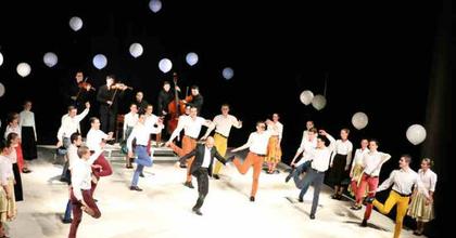 Művészetek Völgye - Ősbemutatót tart az Ifjú Szívek Táncszínház