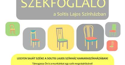 Nézőtéri székeket kínál örökbefogadásra a Soltis Lajos Színház