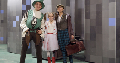 A kétbalkezes varázsló – Zenés gyerekelőadás a kolozsvári színházban