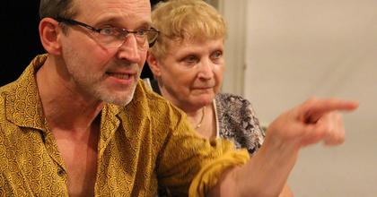 Zsótér Sándor egy Jean Genet darabot rendez a Maladype Színházban