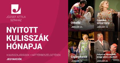 Nyitott kulisszák hónapja a József Attila Színházban