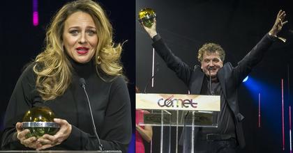 Pokorny Lia és Scherer Péter Comet-díjat kapott