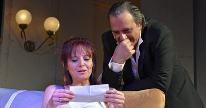 Kettős játszma - Krimivígjátékra készül az egri színészházaspár