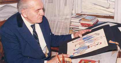 Márk Tivadarra, az Operaház jelmeztervezőjére emlékeztek Budapesten