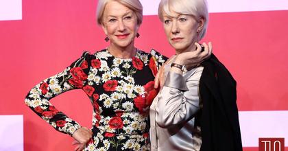 Helen Mirrent 3 viaszfigurával köszöntötte a londoni Tussauds múzeum