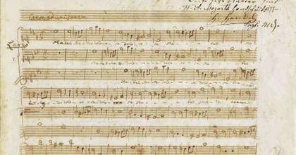 Mozart-kéziratot mutattak be Salzburgban