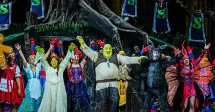 Már a külföldi bemutatókról tárgyalnak - Ilyen volt a Shrek musical!