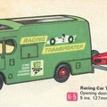 Matchbox King Size Racing Car Transporter
