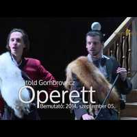 Gombrowicz Operettjével nyitja évadát a Nemzeti Színház