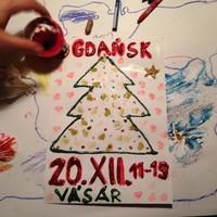 Karácsony vásár a Gdanskban