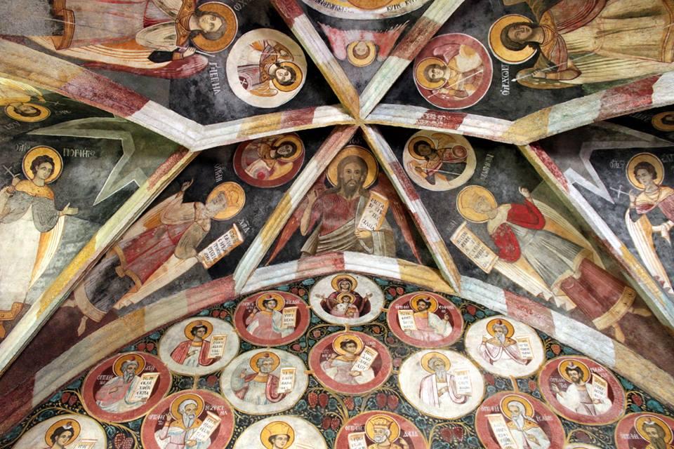 Nagyboldogasszony Ortodox Templom mennyezeti freskói - Huszty Zoltán, Balkan Calling Egyesület