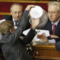Csak a szokásos - bunyó az ukrán parlamentben