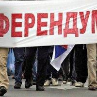 Önkényes népszavazás Koszovóban