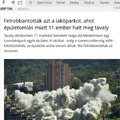 A slendrián hírszerkesztőt mikor robbantják fel?