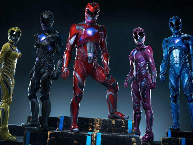 Power Rangers előzetes