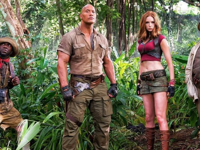 Jumanji: Welcome to the Jungle előzetes