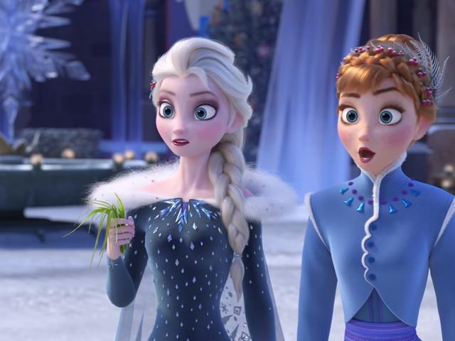 Olaf's Frozen Adventure előzetes