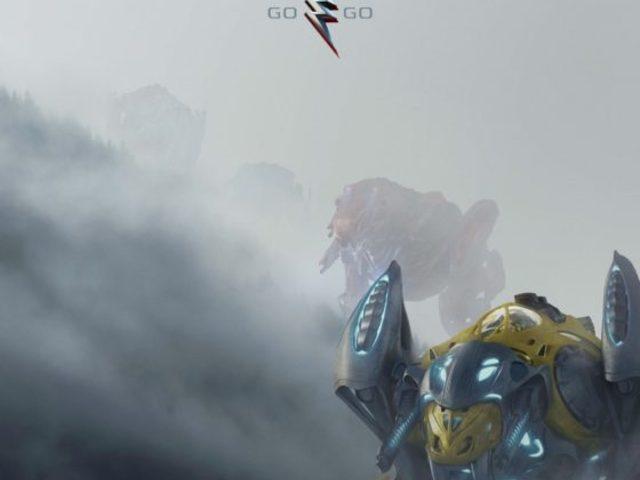 Power Rangers plakát