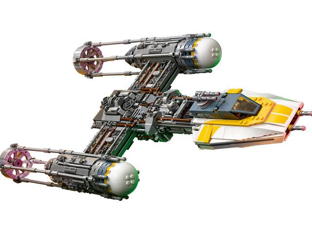 LEGO Y-szárnyú vadászgép gyűjtői kiadás