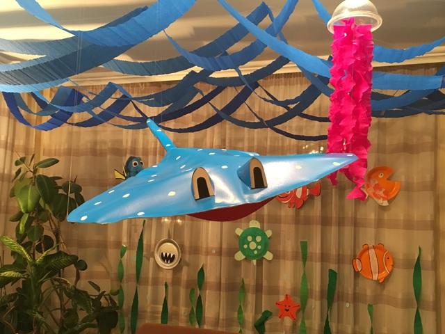 Csináld Magad - Némó nyomában születésnapi dekoráció