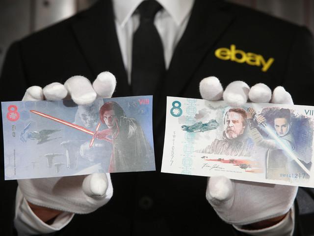 Az utolsó Jedik bankjegyei