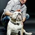Brad Pitt és Jack, a bulldog