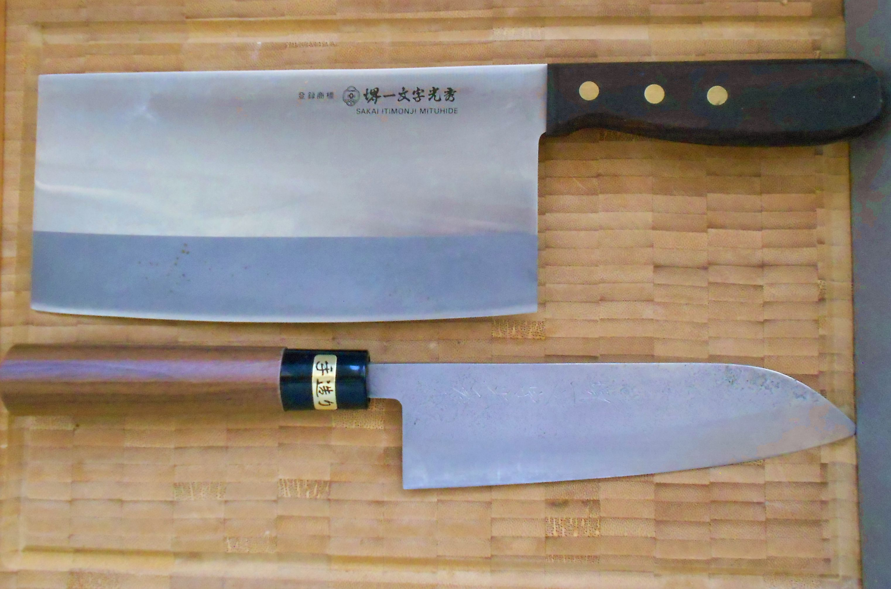 kínai és japán konyhakéseim