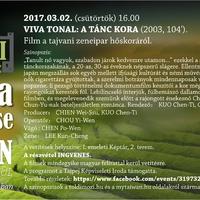 Tajvani Filmtavasz - Viva Tonal: A Tánc Kora