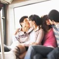 Baszás a buszon
