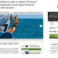 Szörf oktatás 2013 | szörf oktatás Balaton
