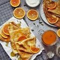 Kardamomos narancs szirup