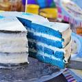 Kék bársony torta