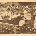 A román királyi család a régi Szovátafürdőn