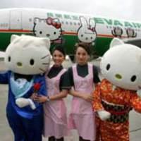 Hello Kitty repülőgép