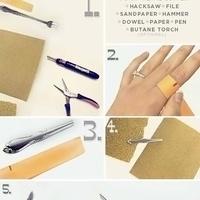 Hogyan csinálj kanálból gyűrűt?