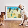 Megnyílt a világ első kutyáknak szóló kiállítása