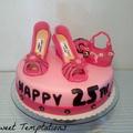 Cipők a tortán