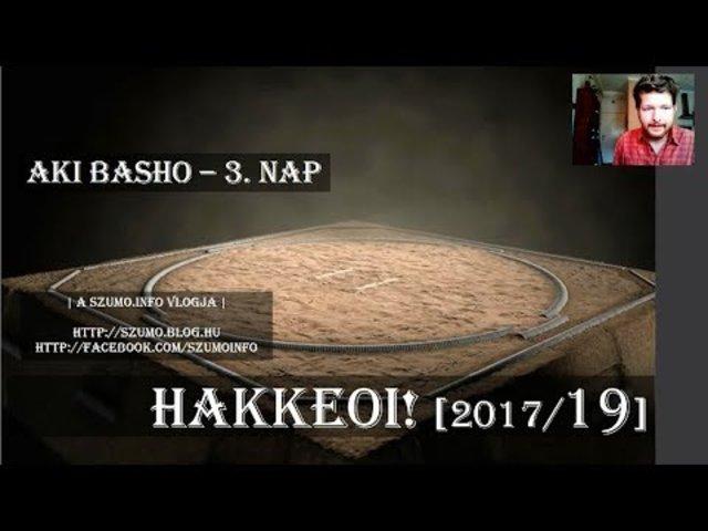 HAKKEOI! [2017/19] - Aki Basho - 3.nap