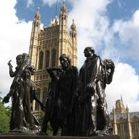 A Parlament parkjai: London, Parliament square, VTG.