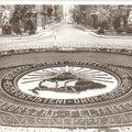 Irredenta kertművészet-országzászlók, emlékművek, parkok