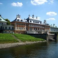Szerelmes fejedelmek kastélya: Schloß Pillnitz, Dresden.