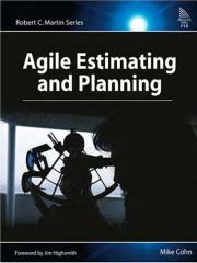 cover agile estimating and planning