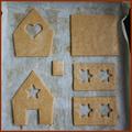 Mézeskalácsház építése házilag