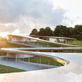 A SANAA új épületegyüttese egy nemzeti parkban