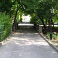 Az angolkert bejárata